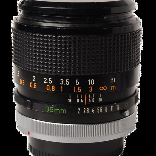 Canon 35mm F2 FD
