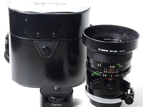 Canon TS 35mm f2.8 S.S.C