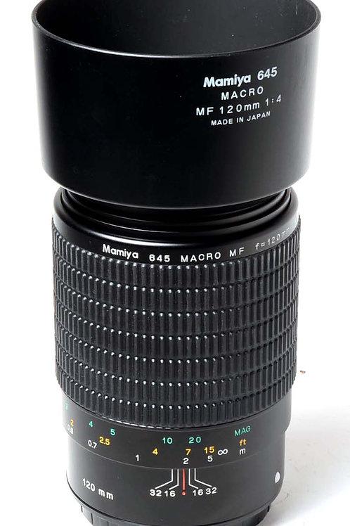 Mamiya MF 120mm f4 Macro