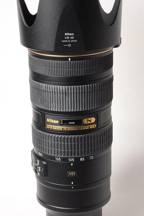 Nikon 70-200mm f2.8 VR II