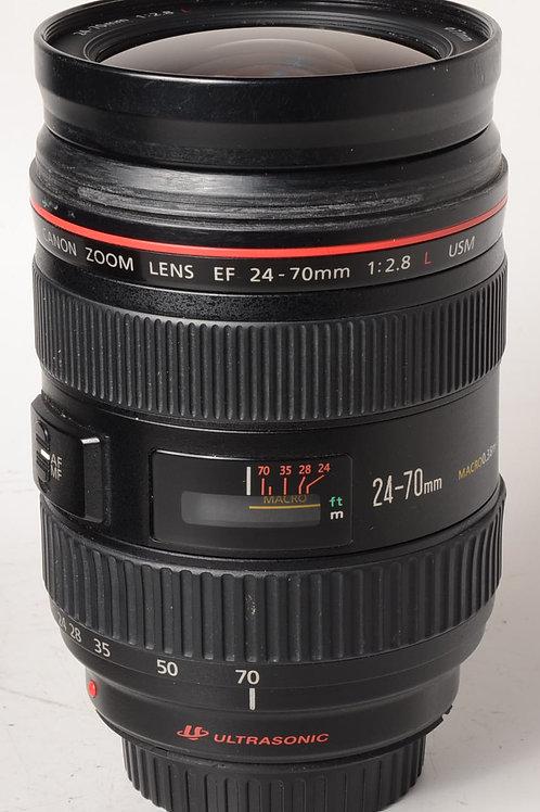 Canon 24-70 f2.8 L