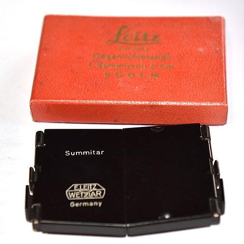 Leica SOOFM folding hood for 50/2 Summicron & Summitar lens