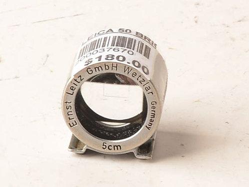 Leica Leitz 5cm 50mm brightline viewfinder - suit Bessa II