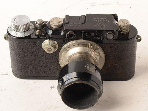 Leica model III in rare black finish