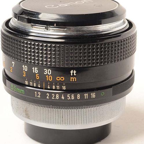 Canon 55mm F1.2 FD