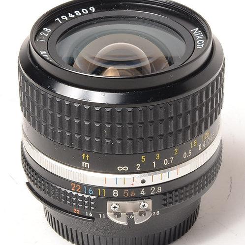 Nikon 24mm f2.8 Ais