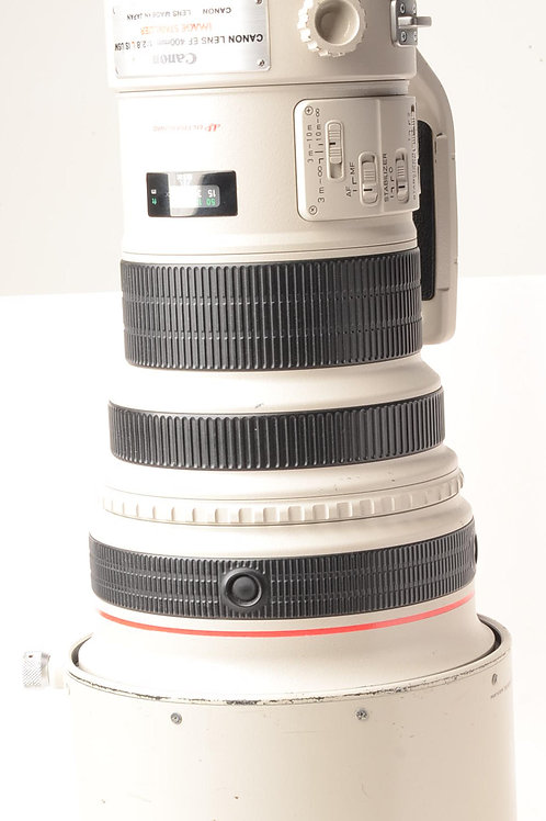 Canon EF 400mm f2.8 L IS USM super telephoto lens