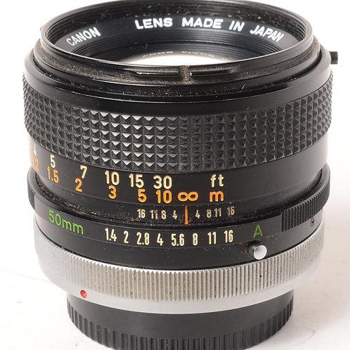 Canon FD 50mm f1.4 S.S.C