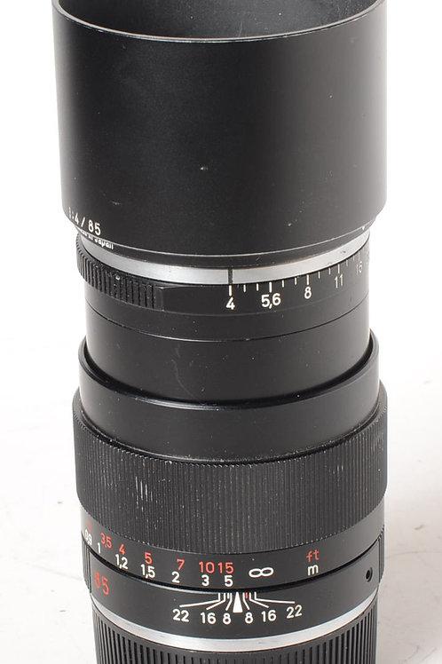 Zeiss 85mm f4 ZM