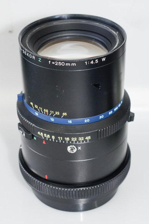 250/4.5W lens for RZ67