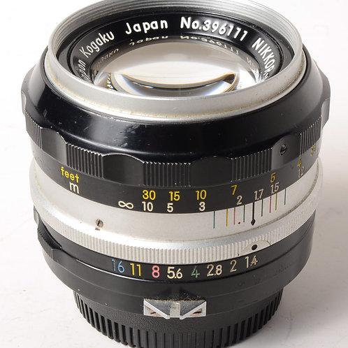 Nikon 50mm f1.4 non-Ai