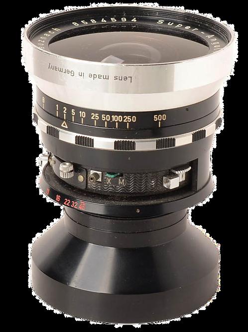 """Schneider 121mm super angulon 8X10"""""""