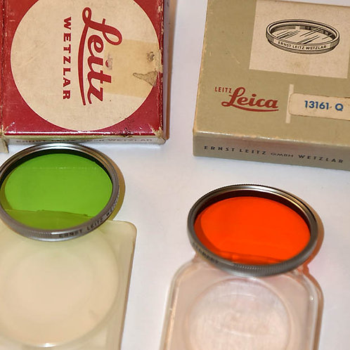 Leica E43 filters for 50/1.4 Summilux ver1 & 2