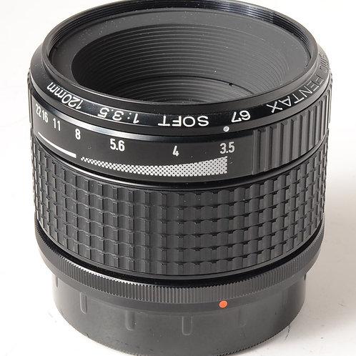 Pentax 67 120mm f3.5 Softfocus