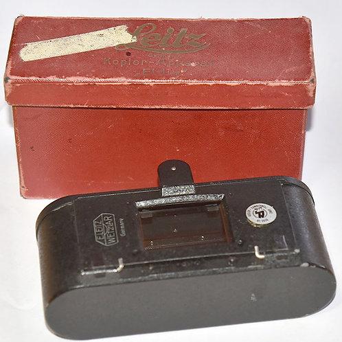 Leica ELDIA 35mm film copy unit - film holder