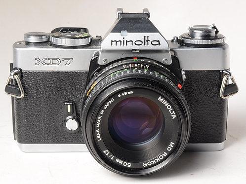 Minolta XD7/50mm F1.7MD