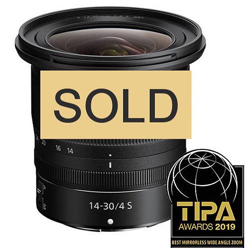 Nikon 14mm-30mm F4 S Zoom