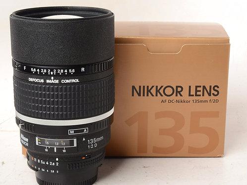 Nikon 135mm f2 DC Lens