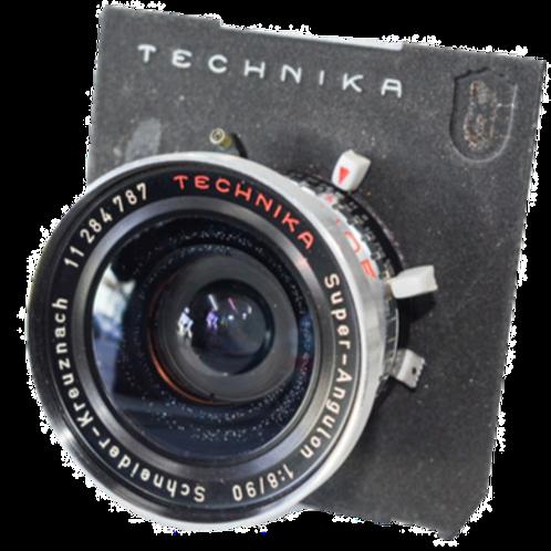 Schneider 90/8 lens for Linhof