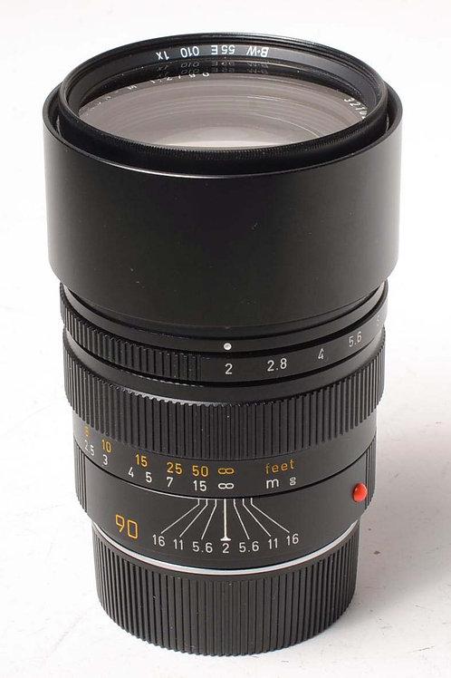 Leica 90mm f2 Summicron