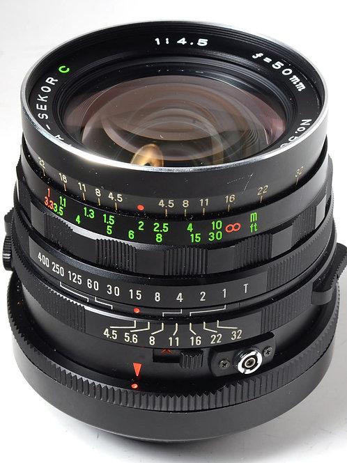 Mamiya 50mm f4.5 C