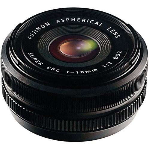 Fujifilm's XF 18mm f/2 R