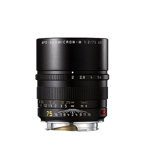 Leica  APO-SUMMICRON-M 75mm f2 ASPH