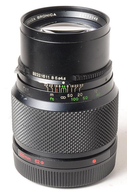 Bronica 200mm f4.5