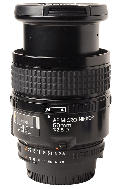 Nikon 60mm F2.8 Macro AF D