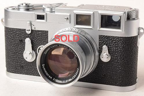 Leica M3 & 50mm F2