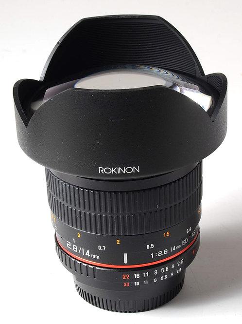 Rokinon 14mm f2.8 - Nikon Mount