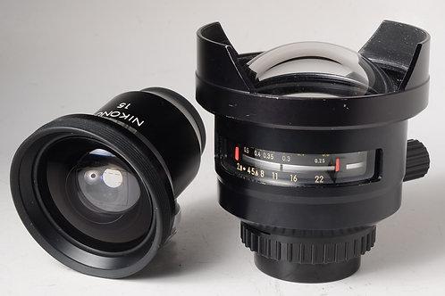 Nikonos 15mm f2.8 Lens
