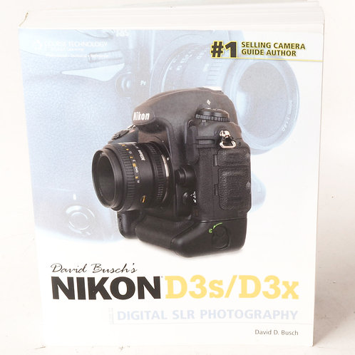 Nikon D3s/D3x Guide Book