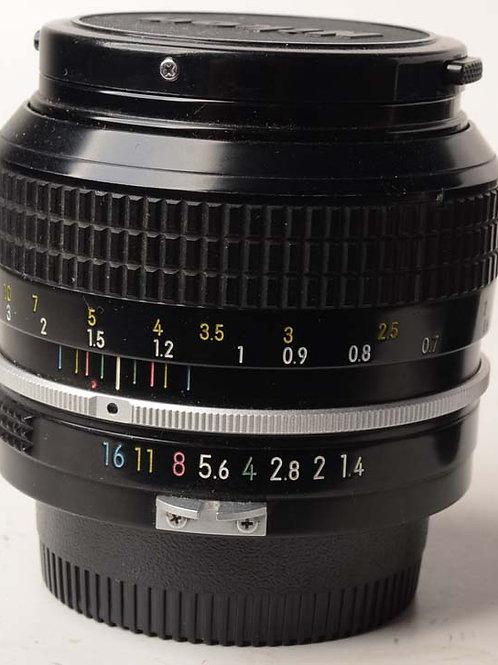 Nikon 50mm F1.4 Non Ai
