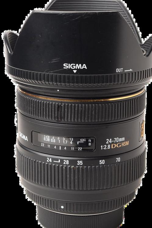 Sigma 24-70mm F2.8 Dg HSM