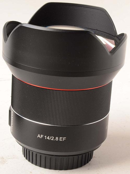 Samyang 14mm F2.8 AF