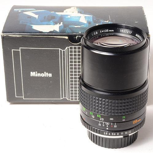 Minolta MC 135mm f2.8