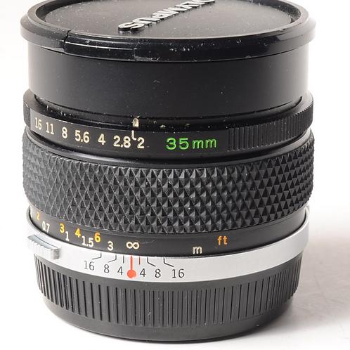Olympus 35mm F2