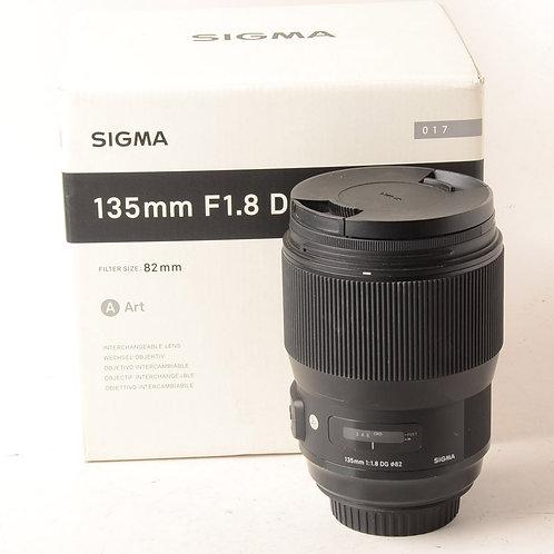 Sigma 135mm F1.8 ART EF
