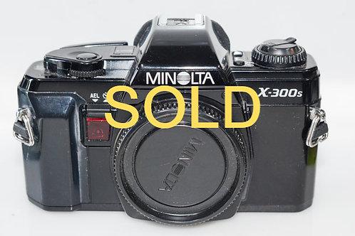 Minolta X300S/50f1.8 MD