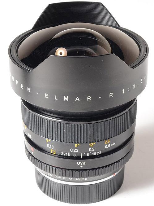 Leica 15mm Super Elmar-R lens