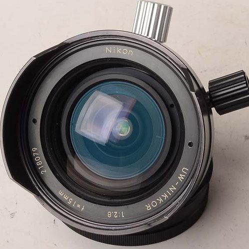 Nikon 15mm F2.8 UW