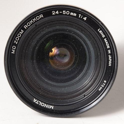 Minolta 24-50mm F4