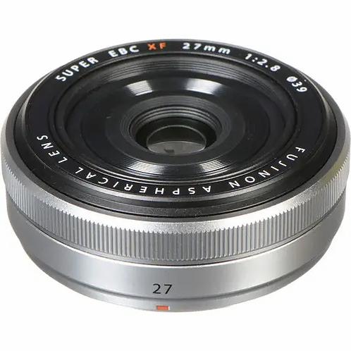 Fuji 27mm F2.8 XF Silver