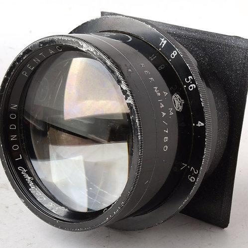 """8"""" Dallmeyer Pentac f/2.9 Large Format Lens"""