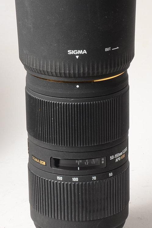 Sigma 50-150mm f2.8 II APO HSM