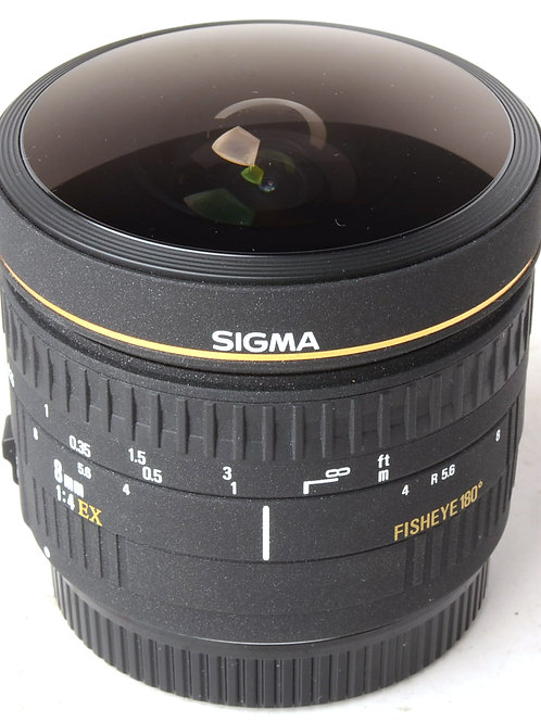 Sigma 8mm f4 Fisheye for Canon EF