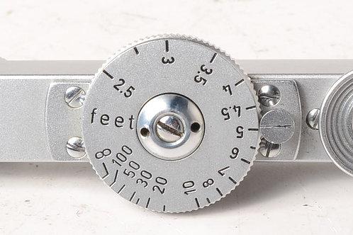 Leica FOKOS rangefinder short base, chrome