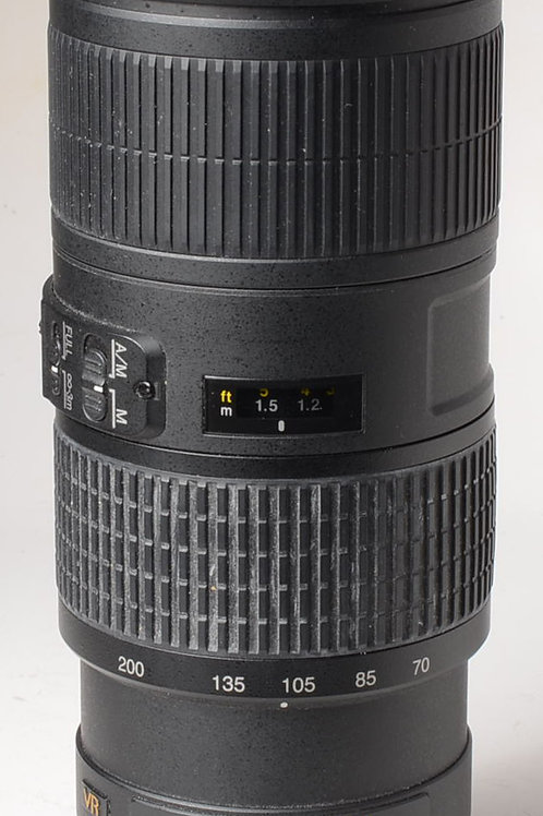 Nikon 70-200mm f4 VR