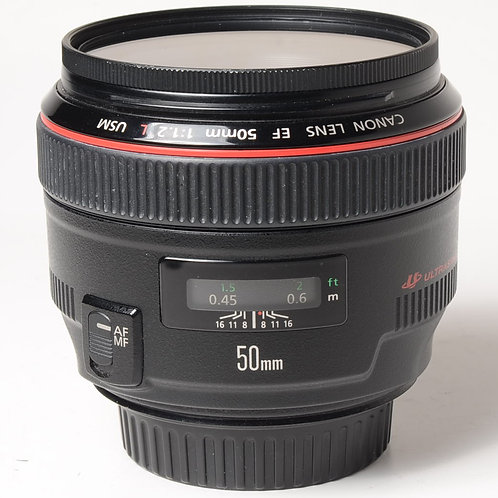 Canon EF 50mm f1.2L